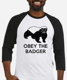 Obey The Badger Baseball Jersey