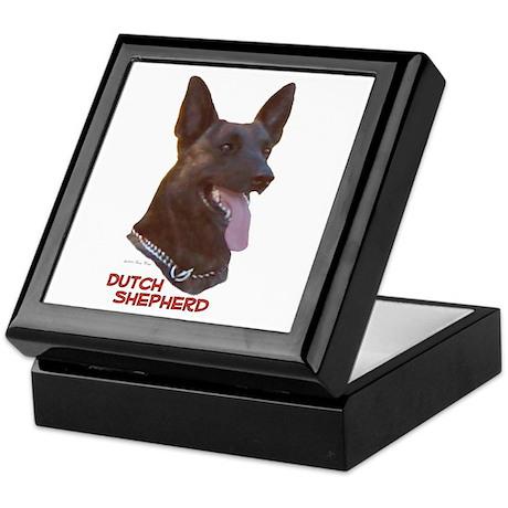 Dutch Shepherd Keepsake Box