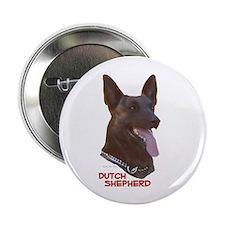 Dutch Shepherd Button