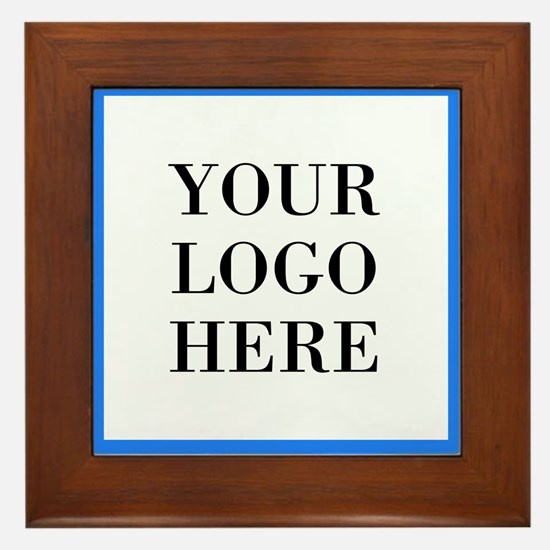 Your Logo Here Framed Tile