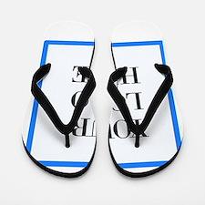 Your Logo Here Flip Flops