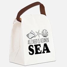 Unique Sea Canvas Lunch Bag