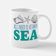 All I need is Vitamin Sea Mugs