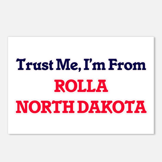 Trust Me, I'm from Rolla Postcards (Package of 8)