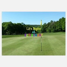 Funny Golf retirement Wall Art