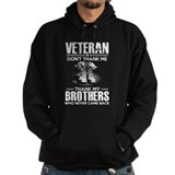 Afghanistan veteran Dark Hoodies