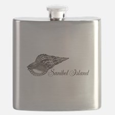Sanibel Island Flask