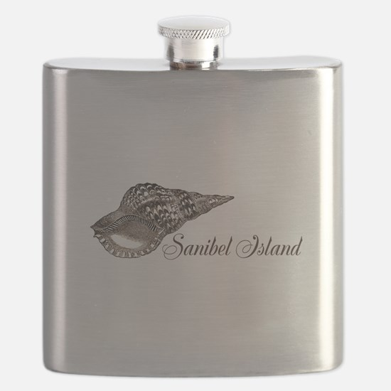 Sanibel Island Flask