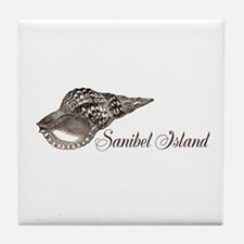 Sanibel Island Tile Coaster
