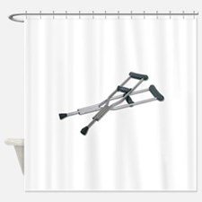 MetalCrutches082010.png Shower Curtain