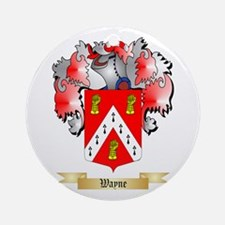 Wayne Round Ornament
