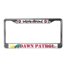 Dawn Patrol on the Florida Coast License Plate
