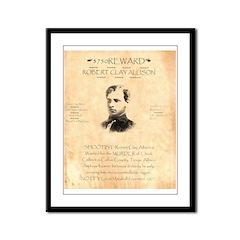Wanted Robert Allison Framed Panel Print