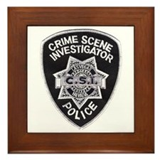 CSI Las Vegas Framed Tile