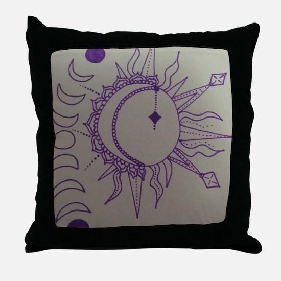 Cute Phase Throw Pillow