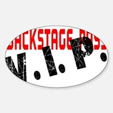 VIP BackStage Pass Decal