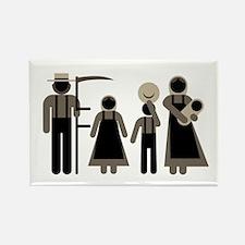 Fair Amish Logo Magnets