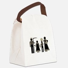 Fair Amish Logo Canvas Lunch Bag