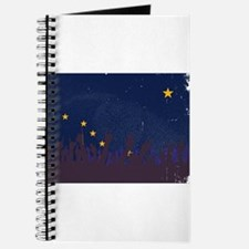 Alaska State Flag with Audience Journal