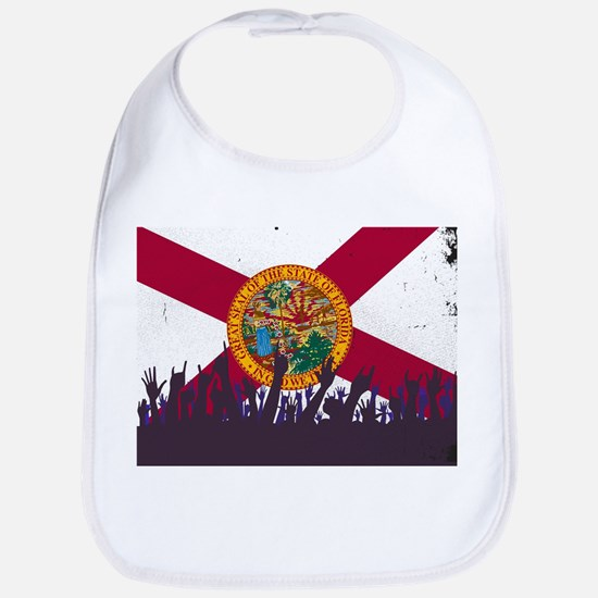 Florida State Flag with Audience Bib