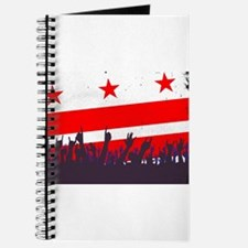 Washington DC Flag with Audience Journal