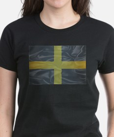 Silk Flag of Saint David Of Wales T-Shirt