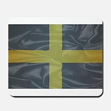 Silk Flag of Saint David Of Wales Mousepad