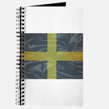 Silk Flag of Saint David Of Wales Journal