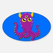 Cute Colorful Monster Decal