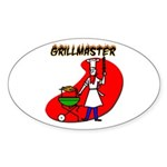 Grillmaster Oval Sticker
