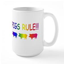 Pigs Rule Mug