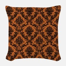 Victorian Wallpaper Woven Throw Pillow