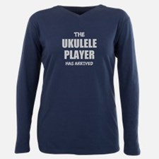 THE UKULELE PLAYER HAS ARRIVED Plus Size Long Slee