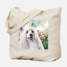 Chinese Crested Painting Tote Bag