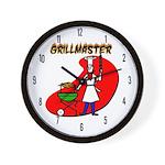 Grillmaster Wall Clock