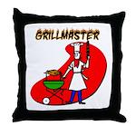 Grillmaster Throw Pillow