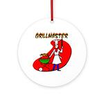 Grillmaster Ornament (Round)