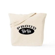 Proud YaYa (black) Tote Bag