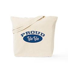 Proud YaYa (blue) Tote Bag
