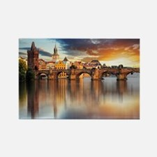 Cute Prague Rectangle Magnet