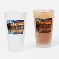 Charles Bridge Prague Drinking Glass