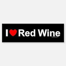 Red Wine Bumper Bumper Sticker