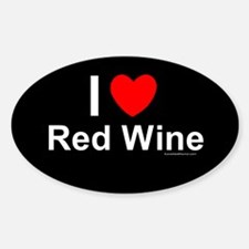 Red Wine Decal