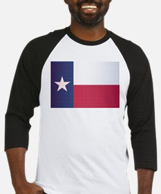Texas State Doted Flag Baseball Jersey