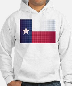 Texas State Doted Flag Hoodie