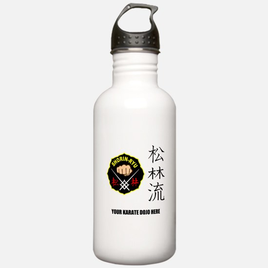Personalized Shorin Ry Water Bottle