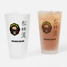 Personalized Shorin Ryu Patch & Kan Drinking Glass