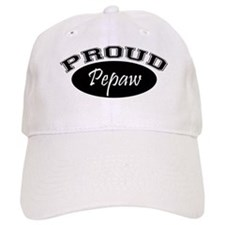 Proud Pepaw (black) Cap