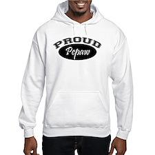 Proud Pepaw (black) Hoodie