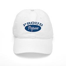 Proud Pepaw (blue) Baseball Cap